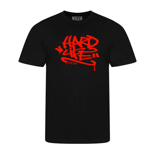 Graffiti T-shirt - Black & Red