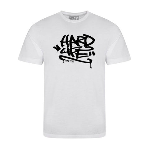 Graffiti T-shirt - White & Black