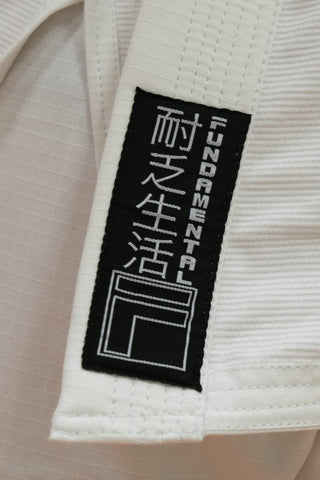 Youth Fundamental Kimono Gi - White