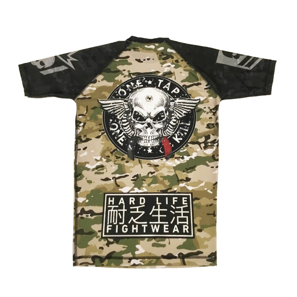 Elite Squad Camo Rash Guard