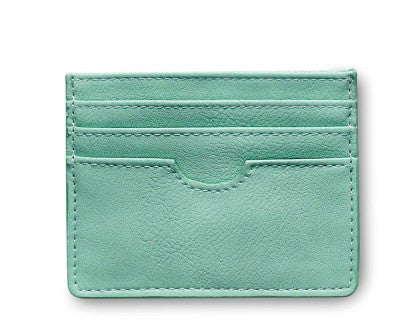 Cardholder in a mint colour