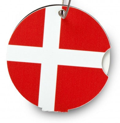 Luggage tag, Denmark