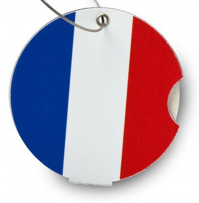 Luggage tag, France