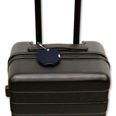 Luggage tag, black