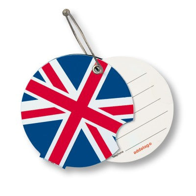 Luggage tag, United Kingdom
