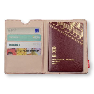 Passport holder, powder