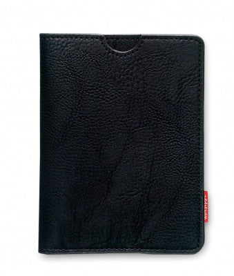 Passport holder, black