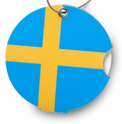 Luggage tag, Sweden