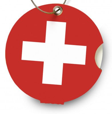 Luggage tag, Switzerland