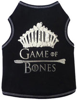 Game of Thrones Graphic Tee by I See Spot Sold by Pupology Dog Boutique