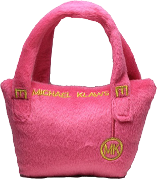Michael Klaws Plush Purse by Haute Diggity Dog Sold by Pupology Dog Boutique Austin Texas