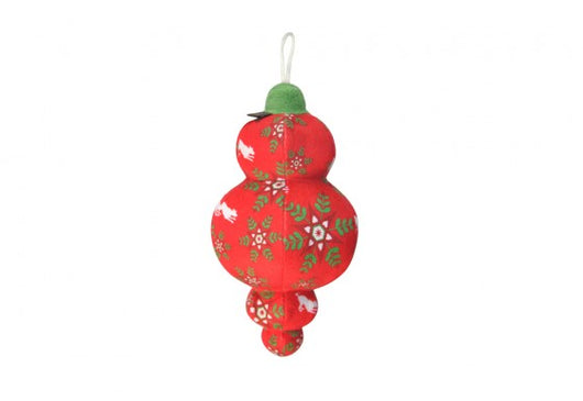 Classic Christmas Ornament Squeaky Toy by P.L.A.Y. - Pet Lifestyle and You Sold by Pupology Dog Boutique