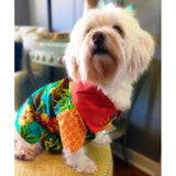 Island Life Hawaiian Dog Shirt by Furrever Doggies for Pupology Dog Boutique