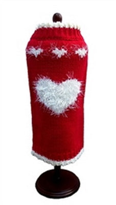 Valentine's Day Dog Sweater by Dallas Designs Sold By Pupology Dog Boutique Austin Texas
