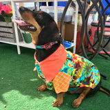 Island Life Hawaiian Dog Shirt (Sold Out)