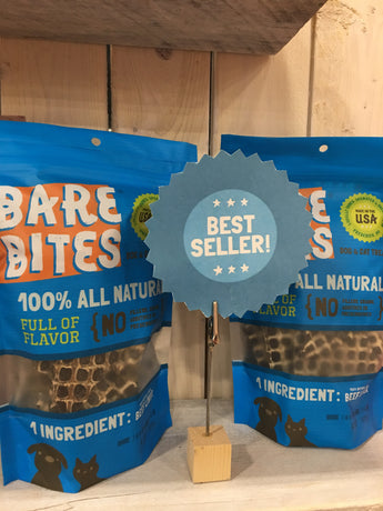 Bare Bites Beef Liver Jerky soldby Pupology Dog Boutique