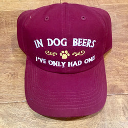 dog beers ball cap by pupology dog boutique austin texas