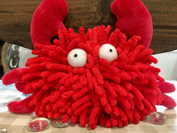 Sea Shammie Crab by Multipet sold by Pupology Dog Boutique Austin Texas