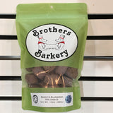 brothers barkery bandit's blueberry natural dog biscuits sold by pupology