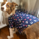 Sailboat Sailor shirt by Worthy Dog Sold by Pupology Dog Boutique Austin Texas