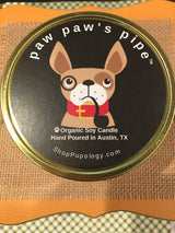 Organic Soy Candle for Dog Lovers by Pupology Austin Texas