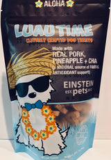 Pork, Pineapple and Chia Dog Treats by Einstein Pets Sold by Pupology Dog Boutique Austin Texas