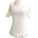 Baby Luxe Lace Dress by Hello Doggie Sold By Pupology Boutique