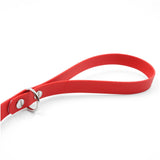 Red Traffic Lead Leash by Petoji for Pupology Boutique