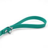 Teal Traffic Lead Leash by Petoji for Pupology Boutique
