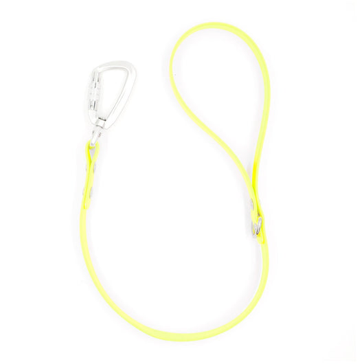 Neon Yellow Traffic Lead Leash by Petoji for Pupology Boutique
