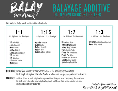 balay powder mixing