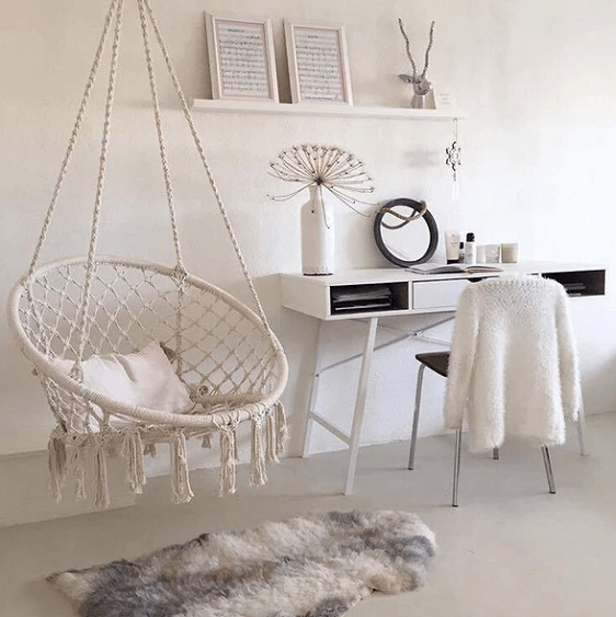 Ada - Macrame Hanging Swing Chair