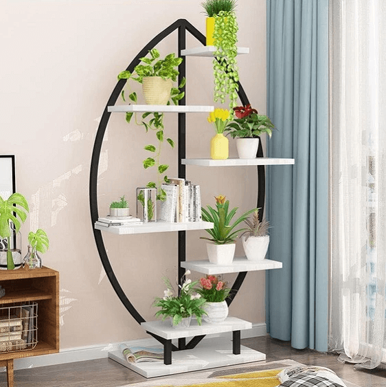 Alessia - Modern Art Deco Planter Display Shelves - A&T Creative