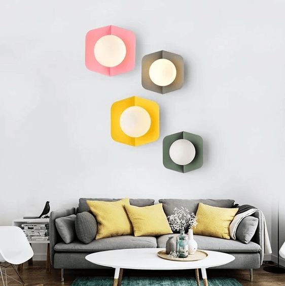 Arnold - Modern Nordic Candy Wall Lamp - A&T Creative