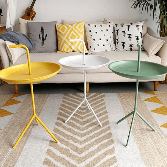 Augie - Modern Nordic Side Table