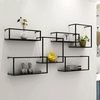Brock - Modern Nordic Iron Frame Shelves - A&T Creative