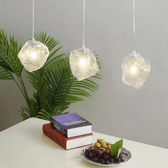 Burley - Glass Pendant Hanging Lamp - A&T Creative