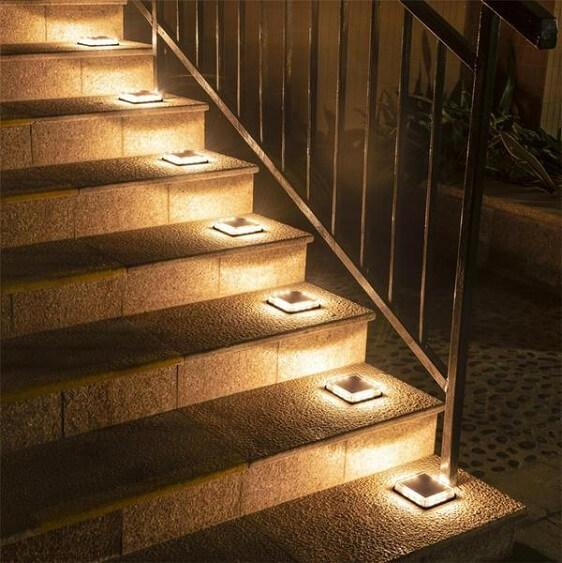 Calandra - LED Solar Ground Embedded Light
