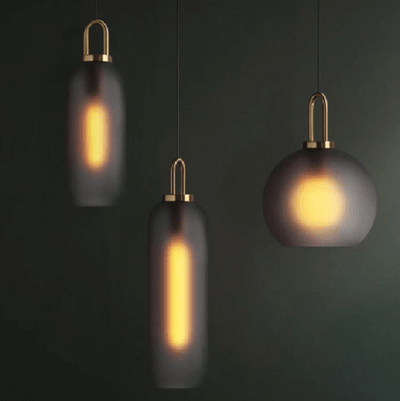 Cam- Glass Pendant Light - A&T Creative