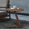 Claude - Vintage Wooden Round Coffee Table - A&T Creative
