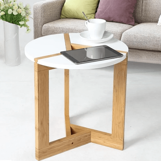 Darius - Modern Nordic Round Coffee Table