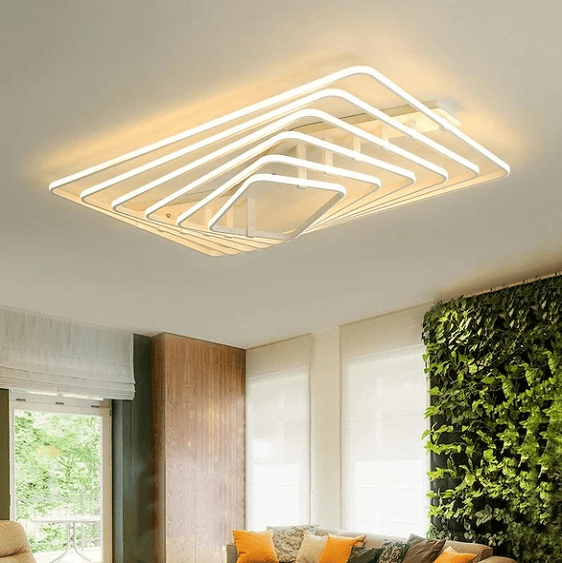 Dilan - Modern LED Twist Layer Ceiling Light - A&T Creative