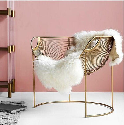 Feather Steel Chair - A&T Creative