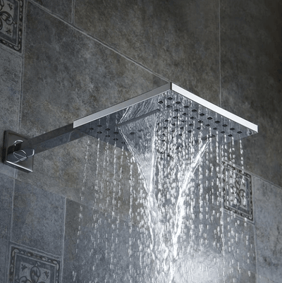 Huxley - Multi-Piece Rainfall Shower Head - A&T Creative