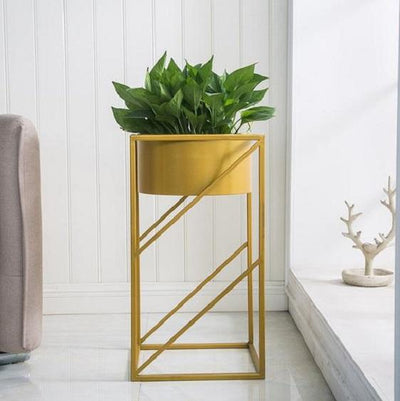 Lev - Angular Modern Indoor Planter - A&T Creative