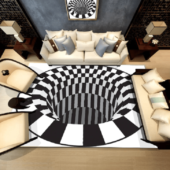 Luste Optical Illusion Rug - A&T Creative