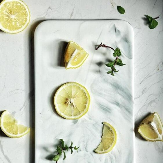 Marble Serving Dish - A&T Creative