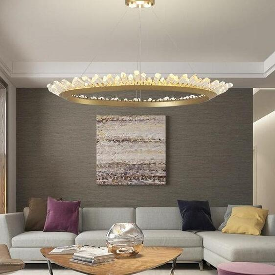 Mignonette - Modern Crystal LED Chandelier