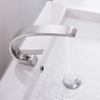 Modern Crane Design Single Handle Basin Faucet