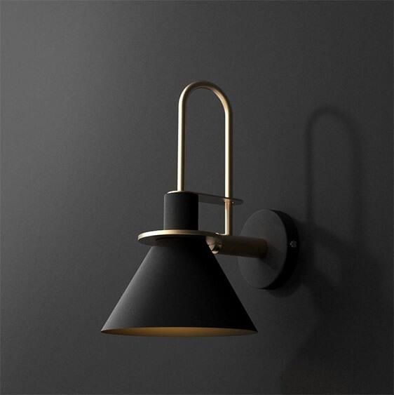 Nordic Wall Light Black